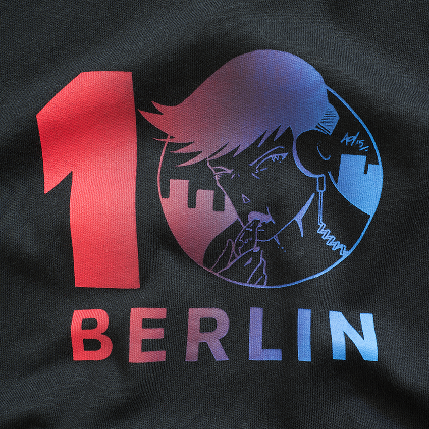 screen printed T-shirts for Rekids 10 at Berghain Berlin
