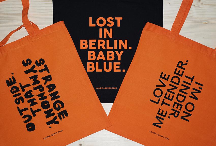 Custom Printed Tote Bags for Laura Guidi